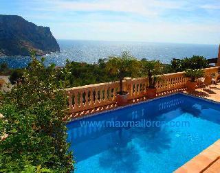 VERKAUFT !!! Calle Violi 53 Puerto Andratx  Mallorca Sehr komfortable Villa