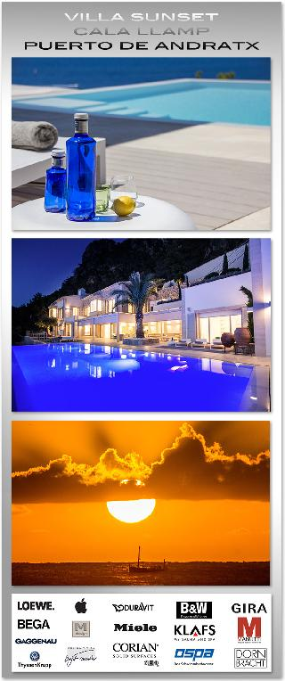 Holiday Rental VILLA PURO SUNSET Sonnen-Untergang 365 TAGE frei Haus Puerto de Andratx