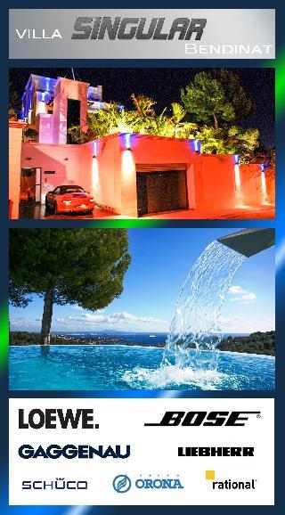 Villa Bendinat Puerto Portals zu verkaufen: Villa Singular Bendinat Golf Puerto Portals