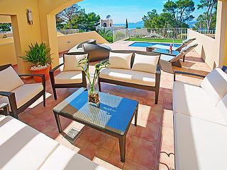Neubau Villa Puerto Andratx Mallorca La Mola