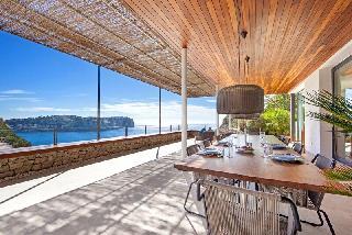 Villa am Meer Port Andratx Südlage fantastischer Meerblick auf die Hafeneinfahrt , die Halbinsel La