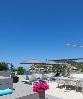 Port d' Andratx Penthaus mit Pool Luxus Wohnung im Zentrum